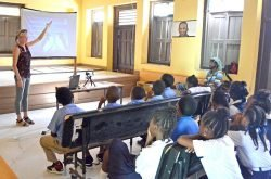 Petit Martinique students and community learn more about Seabirds