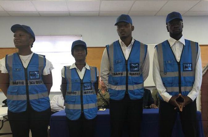 New batch of Traffic Wardens commences training