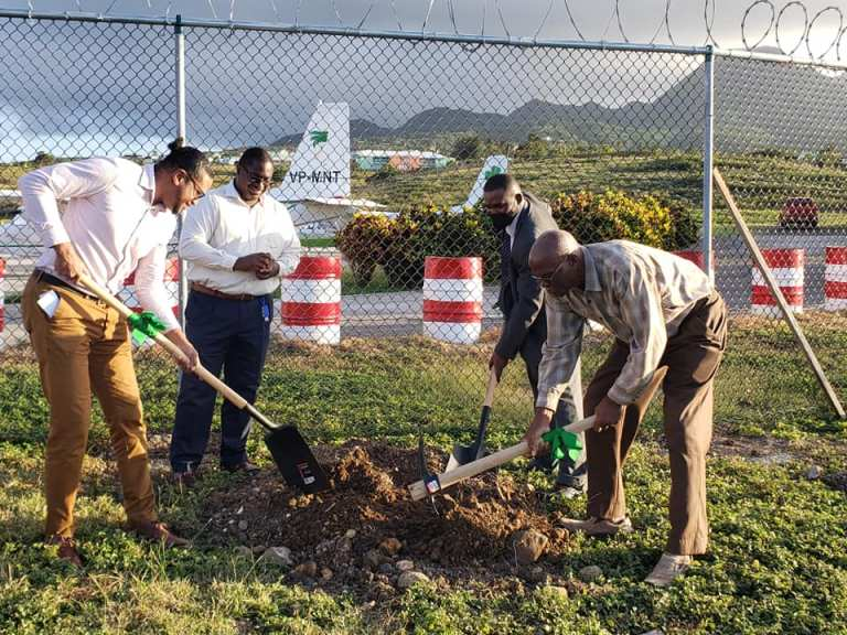 Construction Begins on New Airport Tower for Montserrat