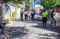 Allman Town bleeding - Four dead, three injured in two gun attacks Four dead, three injured in two gun attacks