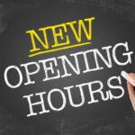 New banking hours take effect today