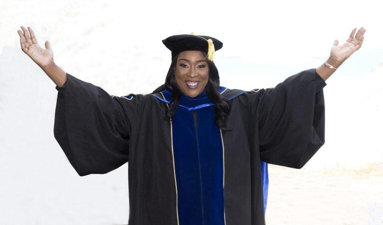 Dr. Na-Ajele Gadija Williams Buffonge is Antigua and Barbuda's latest PHD graduate