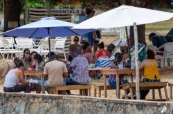 Tobago cops on covid19 patrol for long weekend