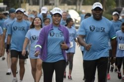 CUC shines as they support the West Bay Sunrise 5K