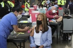 Brighter outlook for U.S. as vaccinations rise and deaths fall