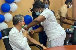After first month of availability, over 8,000 received first dose of vaccine