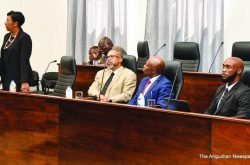 SALARY REDUCTION FOR PARLIAMENTARIANS CONTINUES