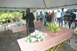 Joint Rio Claro funeral for murdered father, son