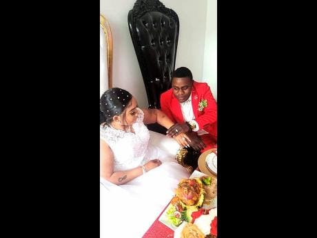 Two hearts beat as one – Nuffy marries long-time girlfriend