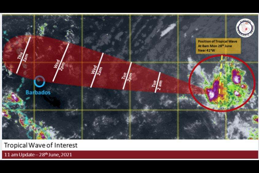 Met Office monitoring tropical wave